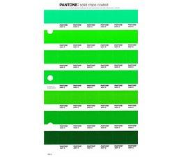 Pantone PMS Solid Chips vervangingspagina op coated papier 193C, kleurnummers 2420C - 2421C - 2422C - 2423C - 2424C - 2426C - 2427C