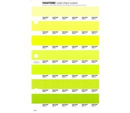 Pantone PMS Solid Chips vervangingspagina op coated papier 200C, kleurnummers 2295C - 2296C - 2297C - 2298C - 2299C - 2300C - 2301C