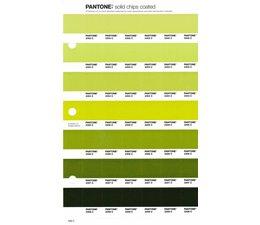 Pantone PMS Solid Chips vervangingspagina op coated papier 206C, kleurnummers 2302C - 2303C - 2304C - 2305C - 2306C - 2307C - 2308C