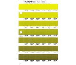 Pantone PMS Solid Chips vervangingspagina op coated papier 207C, kleurnummers 7744C - 7745C - 7746C - 7747C - 7748C - 7749C - 7750C