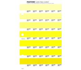 Pantone PMS Solid Chips vervangingspagina op coated papier 213C, kleurnummers 600C - 601C - 602C - 603C - 604C - 605C - 606C