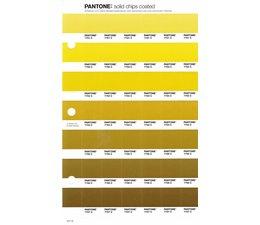 Pantone PMS Solid Chips vervangingspagina op coated papier 217C, kleurnummers 7751C - 7752C - 7753C - 7754C - 7755C - 7756C - 7757C