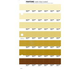 Pantone PMS Solid Chips vervangingspagina op coated papier 220C, kleurnummers 4545C - 4535C - 4525C - 4515C - 4505C - 4495C - 4485C