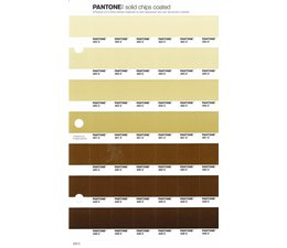 Pantone PMS Solid Chips vervangingspagina op coated papier 222C, kleurnummers 454C - 453C - 452C - 451C - 450C - 449C - 448C