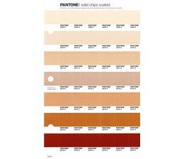Pantone PMS Solid Chips vervangingspagina op coated papier 230C, kleurnummers 2309C - 2310C - 2311C - 2312C - 2313C - 2314C - 2315C