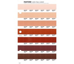 Pantone PMS Solid Chips vervangingspagina op coated papier 232C, kleurnummers 7513C - 7514C - 7515C - 7516C - 7517C - 7518C - 7519C