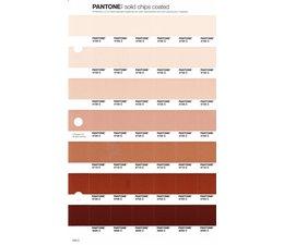 Pantone PMS Solid Chips vervangingspagina op coated papier 233C, kleurnummers 4755C - 4745C - 4735C - 4725C - 4715C - 4705C - 4695C
