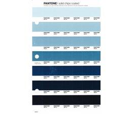 Pantone PMS Solid Chips vervangingspagina op coated papier 239C, kleurnummers 441C - 442C - 443C - 444C - 445C - 446C - 447C
