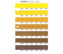 Pantone PMS Solid Chips vervangingspagina op uncoated papier 10U, kleurnummers 7548U - 7549U - 7550U - 7551U - 7552U - 7553U - 7554U