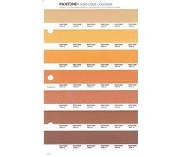 Pantone PMS Solid Chips vervangingspagina op uncoated papier 17U, kleurnummers 7562U - 7563U - 7564U - 7565U - 7566U - 7567U - 7568U