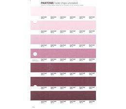Pantone PMS Solid Chips vervangingspagina op uncoated papier 70U, kleurnummers 503U - 502U - 501U - 500U - 499U - 498U - 497U