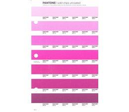 Pantone PMS Solid Chips vervangingspagina op uncoated papier 72U, kleurnummers 236U - 237U - 238U - 239U - 240U - 241U -242U