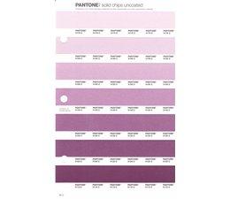Pantone PMS Solid Chips vervangingspagina op uncoated papier 82U, kleurnummers 5175U - 5165U - 5155U - 5145U - 5135U - 5125U - 5115U