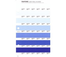 Pantone PMS Solid Chips vervangingspagina op uncoated papier 120U, kleurnummers 656U - 657U - 658U - 659U - 660U - 661U - 662U