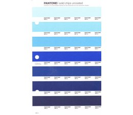 Pantone PMS Solid Chips vervangingspagina op uncoated papier 132U, kleurnummers 290U - 291U - 292U - 293U - 294U - 295U - 296U