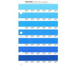 Pantone PMS Solid Chips vervangingspagina op uncoated papier 141U, kleurnummers 2190U - 2191U - 2192U - 2193U - 2194U - 2195U - 2196U