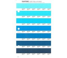 Pantone PMS Solid Chips vervangingspagina op uncoated papier 152U, kleurnummers 310U - 311U - 312U - 313U - 314U - 315U - 316U