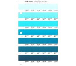 Pantone PMS Solid Chips vervangingspagina op uncoated papier 156U, kleurnummers 317U - 318U - 319U - 320U - 321U - 322U - 323U
