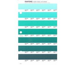 Pantone PMS Solid Chips vervangingspagina op uncoated papier 164U, kleurnummers 324U - 325U - 326U - 327U - 328U - 329U - 330U