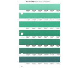 Pantone PMS Solid Chips vervangingspagina op uncoated papier 180U, kleurnummers 7723U - 7724U - 7725U - 7726U - 7727U - 7728U - 7729U