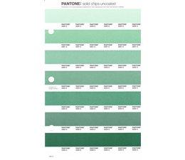 Pantone PMS Solid Chips vervangingspagina op uncoated papier 190U, kleurnummers 2260U - 2261U - 2262U - 2263U - 2264U - 2265U - 2266U