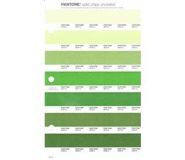 Pantone PMS Solid Chips vervangingspagina op uncoated papier 195U, kleurnummers 2274U - 2275U - 2276U - 2277U - 2278U - 2279U - 2280U