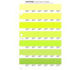 Pantone PMS Solid Chips vervangingspagina op uncoated papier 200U, kleurnummers 2295U - 2296U - 2297U - 2298U - 2299U - 2300U - 2301U