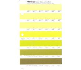 Pantone PMS Solid Chips vervangingspagina op uncoated papier 210U, kleurnummers 587U - 586U - 585U - 584U - 583U - 582U - 581U