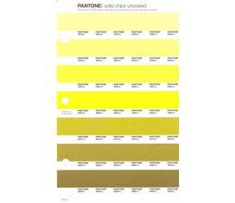 Pantone PMS Solid Chips vervangingspagina op uncoated papier 212U, kleurnummers 3935U - 3945U - 3955U - 3965U - 3975U - 3985U - 3995U