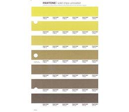 Pantone PMS Solid Chips vervangingspagina op uncoated papier 219U, kleurnummers 7765U - 7766U - 7767U - 7768U - 7769U - 7770U - 7771U