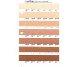 Pantone PMS Solid Chips vervangingspagina op uncoated papier 228U, kleurnummers 726U - 727U - 728U - 729U - 730U - 731U - 732U