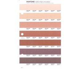 Pantone PMS Solid Chips vervangingspagina op uncoated papier 232U, kleurnummers 7513U - 7514U - 7515U - 7516U - 7517U - 7518U - 7519U