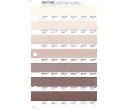 Pantone PMS Solid Chips vervangingspagina op uncoated papier 235U, kleurnummers 7527U - 7528U - 7529U - 7530U - 7531U - 7532U - 7533U