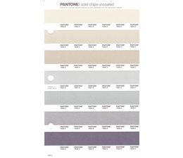 Pantone PMS Solid Chips vervangingspagina op uncoated papier 236U, kleurnummers 7534U - 7535U - 7536U - 7537U - 7538U - 7539U - 7540U