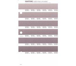 Pantone PMS Solid Chips vervangingspagina op uncoated papier 246U, kleurnummers Warm Gray 6U - Warm Gray 7U - Warm Gray 8U - Warm Gray 9U - Warm Gray 10U - Warm Gray 11U