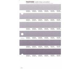 Pantone PMS Solid Chips vervangingspagina op uncoated papier 248U, kleurnummers Cool Gray 6U - Cool Gray 7U - Cool Gray 8U - Cool Gray 9U - Cool Gray 10U - Cool Gray 11U