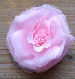 Licht roze corsage