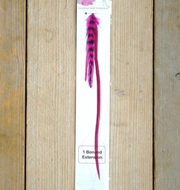 Roze veerextensions bundel (Large)