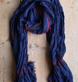 Donkerblauwe herensjaal