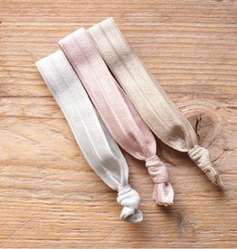 Elastische armbandjes (pastel)