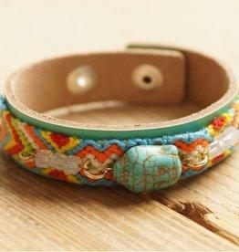 Turquoise Buddha armbandje