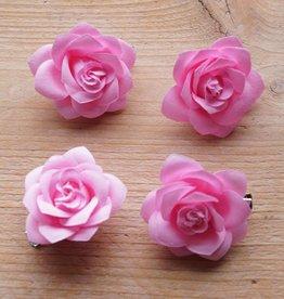 Licht roze bloemetjes (4 st)