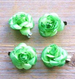 Kleine groene bloemetjes (4 stuks)