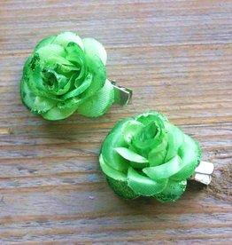 Kleine groene bloemetjes (2 stuks)
