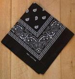 Zwarte bandana