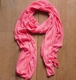 Roze sjaaltje