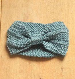 Jeansblauwe hoofdband