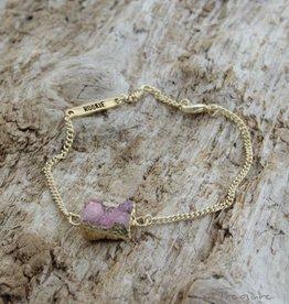 Treasure Rookie Wild Brazil roze armband