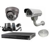 Bewakingscamera pakket met 2 luxe camera's
