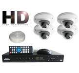 Dahua HD Camera bewaking pakket [ Megapixel DOME ]